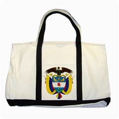 Coat of Arms of Colombia Two Tone Tote Bag