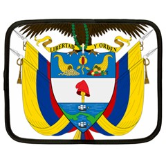 Coat of Arms of Colombia Netbook Case (XL)