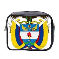 Coat of Arms of Colombia Mini Toiletries Bag 2-Side