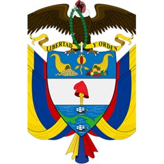 Coat of Arms of Colombia 5.5  x 8.5  Notebooks