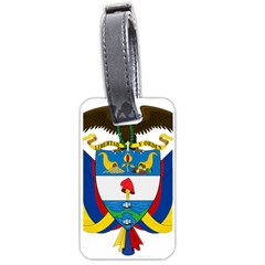 Coat of Arms of Colombia Luggage Tags (One Side)