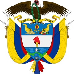 Coat of Arms of Colombia Magic Photo Cubes
