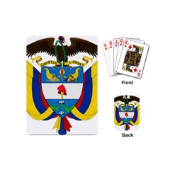 Coat of Arms of Colombia Playing Cards (Mini)