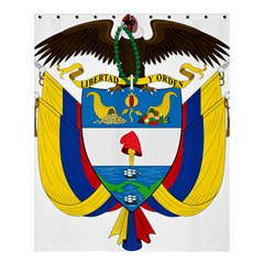 Coat of Arms of Colombia Shower Curtain 60  x 72  (Medium)