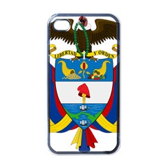 Coat of Arms of Colombia Apple iPhone 4 Case (Black)
