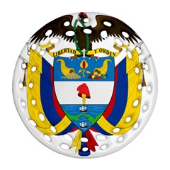 Coat of Arms of Colombia Ornament (Round Filigree)