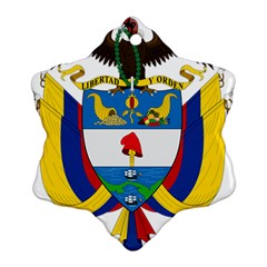 Coat of Arms of Colombia Ornament (Snowflake)
