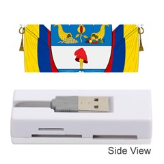Coat of Arms of Colombia Memory Card Reader (Stick)