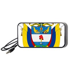 Coat of Arms of Colombia Portable Speaker (Black)