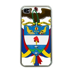 Coat of Arms of Colombia Apple iPhone 4 Case (Clear)