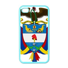 Coat of Arms of Colombia Apple iPhone 4 Case (Color)