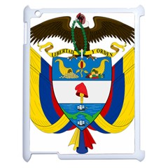 Coat of Arms of Colombia Apple iPad 2 Case (White)