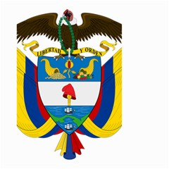 Coat of Arms of Colombia Small Garden Flag (Two Sides)