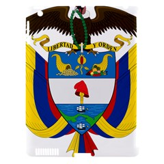 Coat of Arms of Colombia Apple iPad 3/4 Hardshell Case (Compatible with Smart Cover)