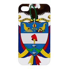 Coat of Arms of Colombia Apple iPhone 4/4S Premium Hardshell Case