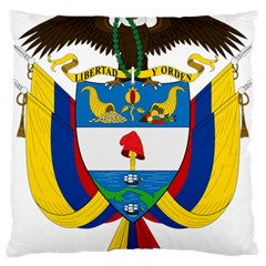 Coat of Arms of Colombia Large Cushion Case (Two Sides)
