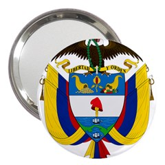 Coat of Arms of Colombia 3  Handbag Mirrors