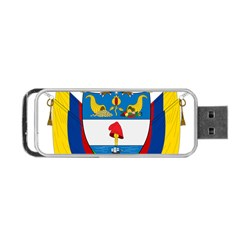 Coat of Arms of Colombia Portable USB Flash (One Side)