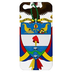 Coat of Arms of Colombia Apple iPhone 5 Hardshell Case