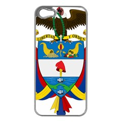 Coat of Arms of Colombia Apple iPhone 5 Case (Silver)