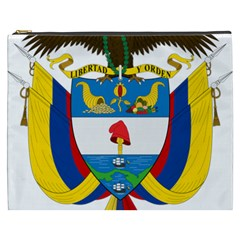 Coat of Arms of Colombia Cosmetic Bag (XXXL)