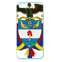 Coat of Arms of Colombia Apple Seamless iPhone 5 Case (Color)