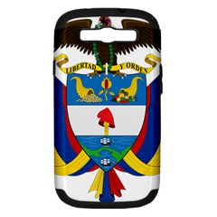 Coat of Arms of Colombia Samsung Galaxy S III Hardshell Case (PC+Silicone)