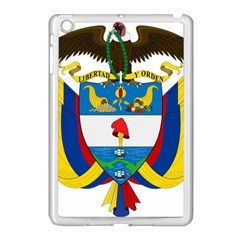 Coat of Arms of Colombia Apple iPad Mini Case (White)