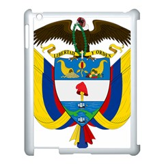 Coat of Arms of Colombia Apple iPad 3/4 Case (White)