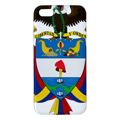 Coat of Arms of Colombia Apple iPhone 5 Premium Hardshell Case