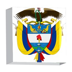 Coat of Arms of Colombia 5  x 5  Acrylic Photo Blocks
