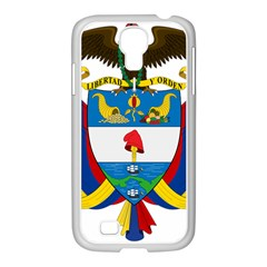 Coat of Arms of Colombia Samsung GALAXY S4 I9500/ I9505 Case (White)