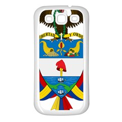 Coat of Arms of Colombia Samsung Galaxy S3 Back Case (White)