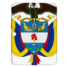 Coat of Arms of Colombia Samsung Galaxy Tab 3 (10.1 ) P5200 Hardshell Case