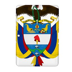 Coat of Arms of Colombia Samsung Galaxy Tab 2 (10.1 ) P5100 Hardshell Case