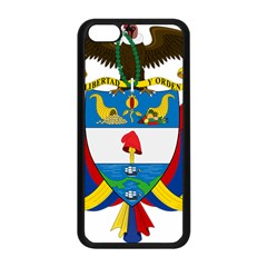 Coat of Arms of Colombia Apple iPhone 5C Seamless Case (Black)
