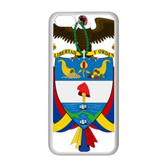 Coat of Arms of Colombia Apple iPhone 5C Seamless Case (White)