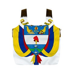 Coat of Arms of Colombia Full Print Recycle Bags (M)