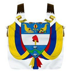 Coat of Arms of Colombia Full Print Recycle Bags (L)