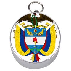 Coat of Arms of Colombia Silver Compasses