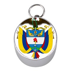 Coat of Arms of Colombia Mini Silver Compasses