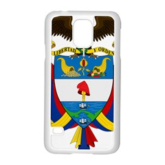 Coat of Arms of Colombia Samsung Galaxy S5 Case (White)