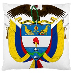 Coat of Arms of Colombia Large Flano Cushion Case (One Side)