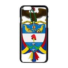 Coat of Arms of Colombia Apple iPhone 6/6S Black Enamel Case