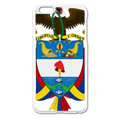 Coat of Arms of Colombia Apple iPhone 6 Plus/6S Plus Enamel White Case