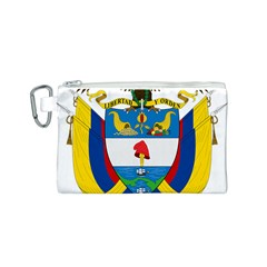 Coat of Arms of Colombia Canvas Cosmetic Bag (S)
