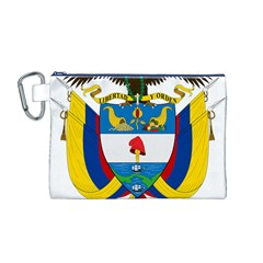 Coat of Arms of Colombia Canvas Cosmetic Bag (M)