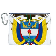Coat of Arms of Colombia Canvas Cosmetic Bag (XL)