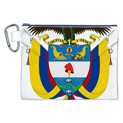 Coat of Arms of Colombia Canvas Cosmetic Bag (XXL)