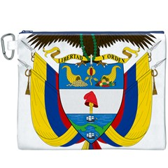 Coat of Arms of Colombia Canvas Cosmetic Bag (XXXL)
